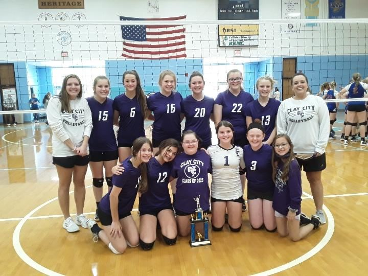 Congratulations to the Jr. High Volleyball Team, for winning the  SWIAC Championships