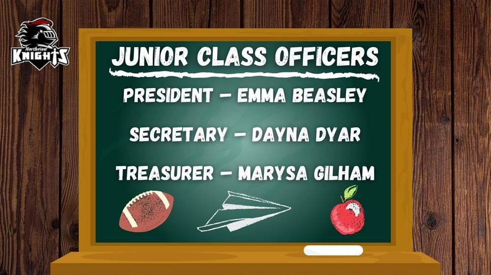 Junior Class Officers