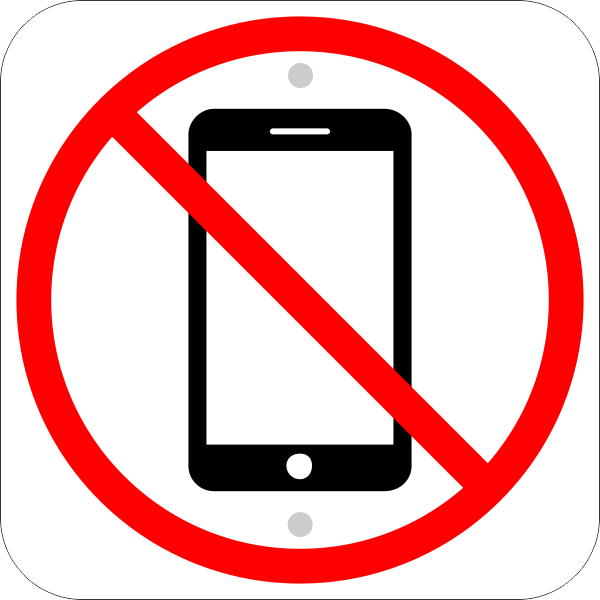 No Cell Phones Image