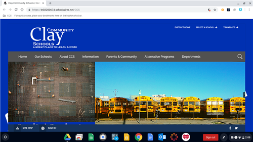 District Homepage